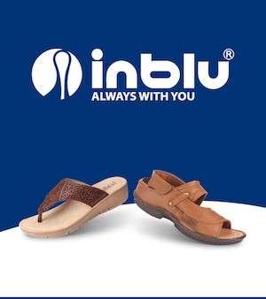 Inblu Ανδρικές & γυναικείες ανατομικές παντόφλες – πέδιλα