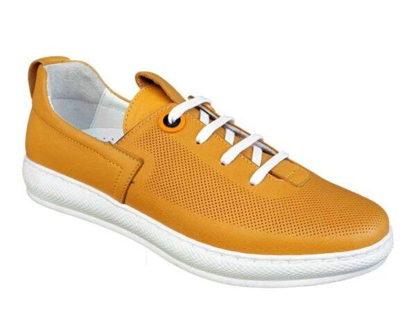Boxer 96028 10-015 Κίτρινο | Γυναικεία Sport - Sneakers
