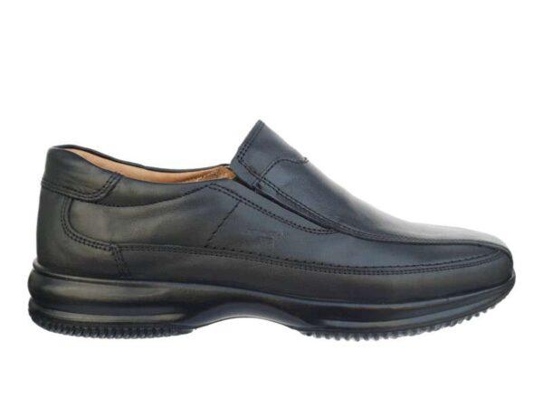 Ανδρικά Μοκασίνια | Boxer shoes 12115 14-111 Μαύρο