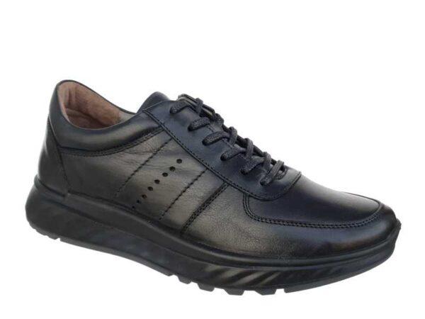 Boxer 19126 10-011 Μαύρα | Casual Ανδρικά Παπούτσια