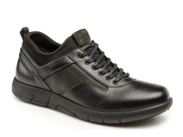 Boxer 19139 10-011 Μαύρα Casual Ανδρικά Παπούτσια